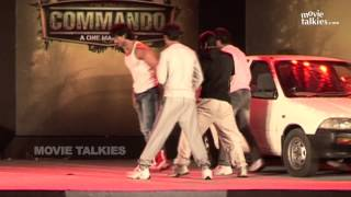 Commando 2 Movie 2016- |On Location Stunts Vidyut Jamwal, Pooja Chopra