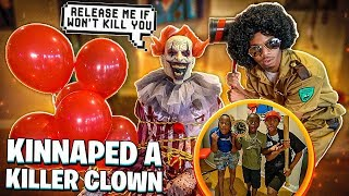 WE CAUGHT THE KILLER CLOWN & HE ESCAPED!😱