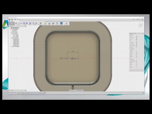Tutorial para aprender a diseñar un estuche para audífonos con Fusion 360.