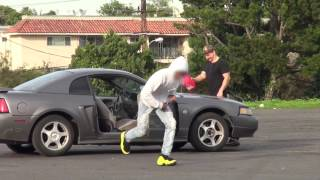 Lighting Cars On Fire Prank!!!