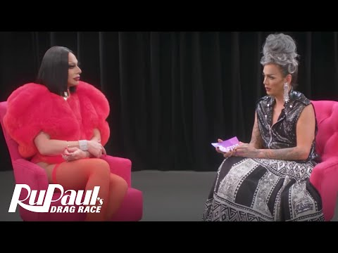 The Pit Stop w/ Raja & Raven | RuPaul's Drag Race (Season 9 Ep 10) | Now on VH1