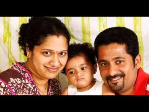 Telugu actress and anchor Anitha Chowdary with her family