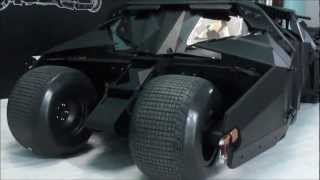 Hot Toys - 2012 Tumbler Batmobile Relaunch - Unboxing & Assembly