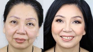 Mature Makeup | I Give My Mum a Makeover! Tina Yong