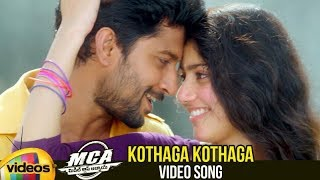 MCA Telugu Movie Songs   Kothaga Kothaga Video Song   Nani   Sai Pallavi   DSP   Mango Videos