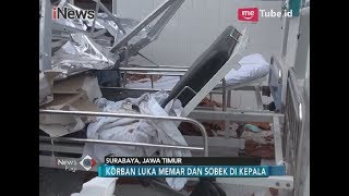 [Video Amatir] Evakuasi Korban Ambruknya Atap RS AL Dr. Ramelan, Surabaya - iNews Pagi 19/03