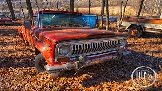 Classic Abandoned Autos - Abandoned Station Wagon, Muscle Car, Town Car, Cadillac (Nice Day)