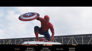 Captain America: Civil War (2016) Bluray Menu Fanmade (1080p)