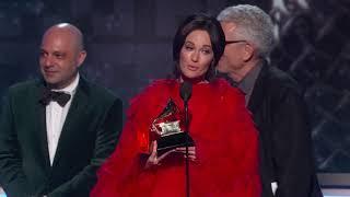 Kacey Musgraves Wins Album Of The Year   2019 GRAMMYs Acceptance Speech