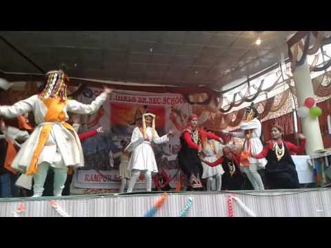 Kullvi nati performed by Govt.Girls Sr. Sec. School Rampur bsr Shimla H. P. India