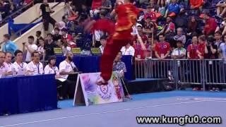 أفضل لقطات في بطولة العالم في الووشو كونغ فو 2015 (اليوم الرابع)