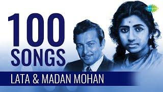 Top 100 Songs Of Lata & Madan Mohan  | लता एंड मदन मोहन के 100 गाने  | HD Songs | One Stop Jukebox