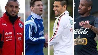 !!Apodos de futbolistas en la copa américa!!