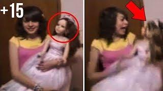 Hareket Ederken Kameralara Yakalanan 5 KORKUNÇ Oyuncak Bebek