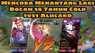 Mencoba Menantang Bocah 14 Tahun Cold Top Global Alucard 1vs1 Alucard - Mobile Legends #2