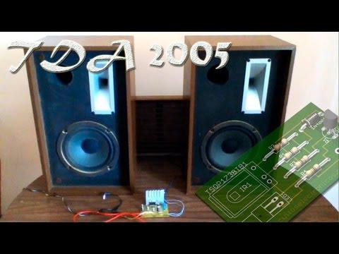 Amplificador casero TDA2005 monta el tuyo