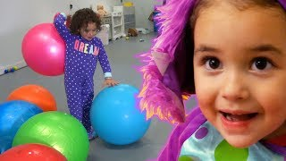Ashlynn teaches colors, plays hide and seek, and more!