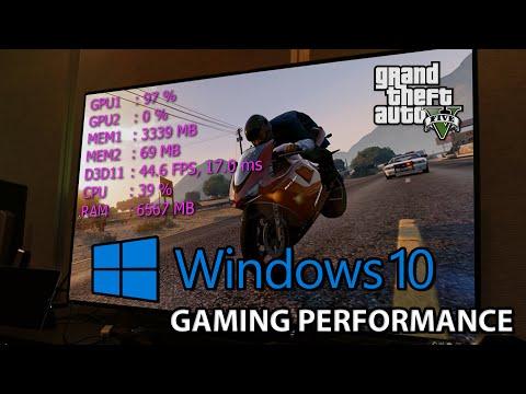 GTA 5 PC : Windows 10 Gaming Performance vs Windows 7 Benchmark   i7 4790k GTX 980