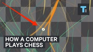 How a computer plays chess