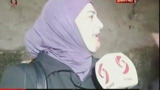 دموع و لحظات مؤثرة ترصدها كاميرا الإخبارية في لقاء الخارجين من قرى و بلدات وادي بردى