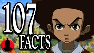 107 Boondocks Facts YOU Should Know - (ToonedUp #114) @ChannelFred