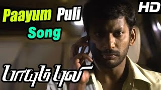 Paayum Puli Tamil Movie   Scenes   Paayum Puli Video Song   D Imman   Vishal   Samuthirakani   Soori