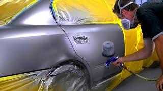 How To Blend Metallic Car Paint