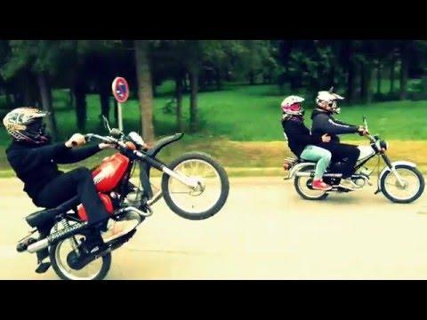 K2tf treffen 2016 bad sulza  / wheelie simson / hd