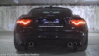 Jaguar F-Type R V8 Amazing Exhaust Note!