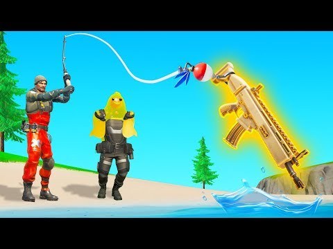 FISHING For LOOT in Fortnite Chapter 2 challenge