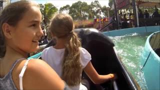 Downie girls ride Pirates revenge