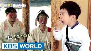 Seungjae's tears for the beggar hyungs