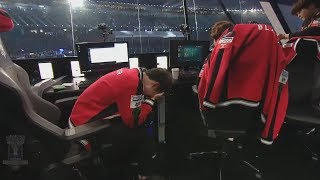 Faker Crying on Stage (Sad Moment)