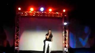Debbie Singing I Surrender At District Idol