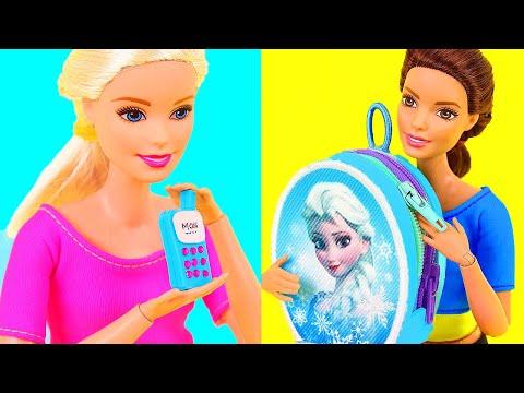 Xxx Mp4 6 DIY Barbie Miniatures Doll Phone Backpack Dollhouse Etc 3gp Sex