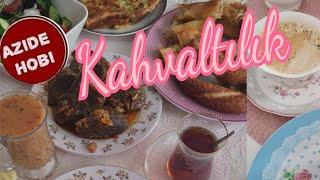 KAHVALTILIK - Breakfast | MANTAR Kavirmasi -Mantarli Omlet/ Azide Hobi