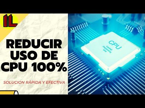 ★Como Reducir/Bajar el Alto Consumo【Uso de CPU 100%】--Metodo Facil y Sencillo