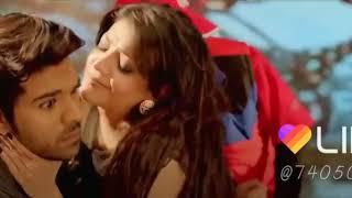 Hot Super lip to lip kissing scene of ram charan a