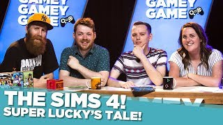 Super Lucky's Tale! The Sims 4! - Gamey Gamey Game