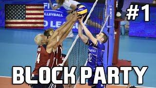 USA BLOCK PARTY Part 1 - USA Volleyball - World League