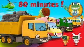 Dylan The Dump Truck and More Trucks For Kids | Gecko