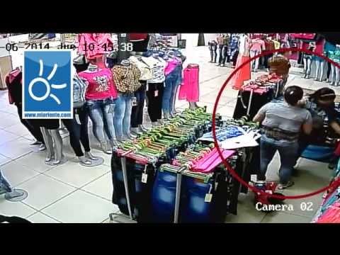 4 mujeres roban diferentes almacenes en Rionegro MiOriente