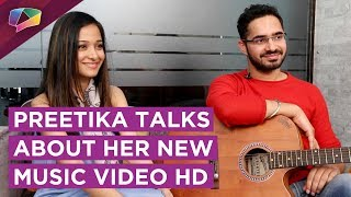 Preetika Rao Talks About Her New Music Video With India Forums | Live HD