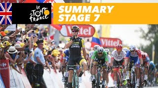 Summary - Stage 7 - Tour de France 2018