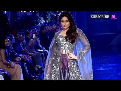 Xxx Mp4 Kareena Kapoor Khan On Ramp At Final Day Of LFW 3gp Sex
