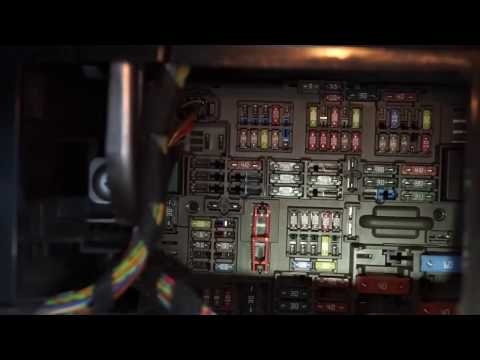 BMW F30 fuse box locations and fuse chart location. - video download