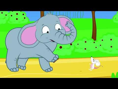 Fil ile Fare | Sevimli Dostlar Çizgi Film Bebek Şarkıları 2016 | Adisebaba Çocuk Şarkıları