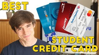 Which is the BEST STUDENT CREDIT CARD?