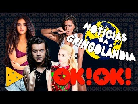 Música nova do Harry Styles Selena Gomez namorando oficial e Anitta e Iggy Azalea juntas
