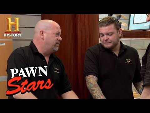 Pawn Stars: Reid Knuckle Duster   History